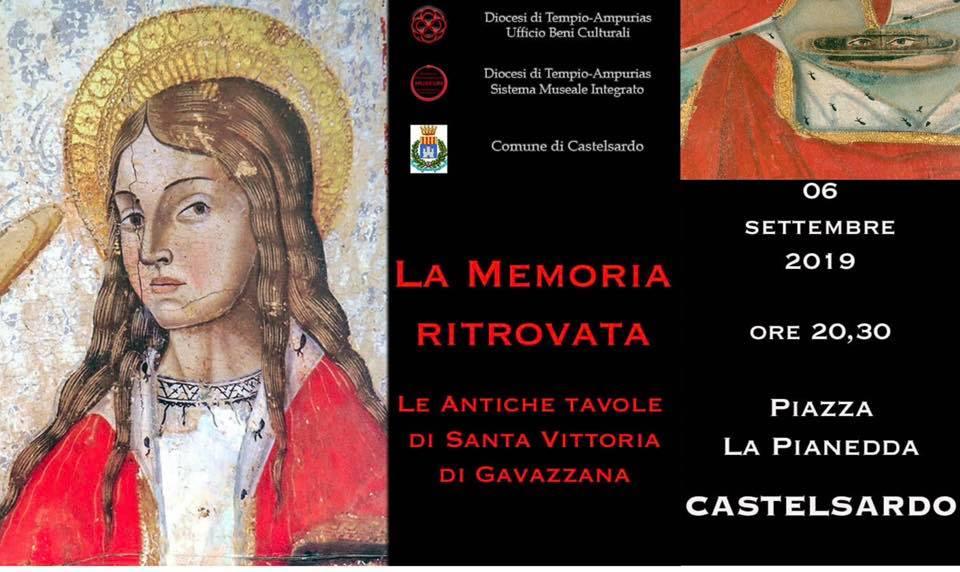 La memoria ritrovata. Le antiche tavole di Santa Vittoria di Gavazzana - Castelsardo